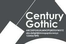 Century gothic / センチュリーゴシック フォント