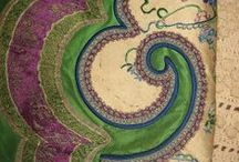 Silk Embroidery Possibilities / Silk threads ribbons floss & works