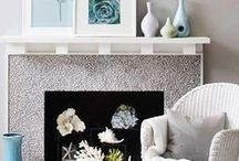 Fire Place Design / Looking for a unique way to present your fireplace? Look no further!