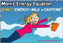 Mom's Energy Source / Because you really don't want to see us without our first cup of coffee.  / by Science Of Parenthood