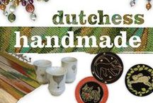 Dutchess Handmade pop-up shop / Arts Mid-Hudson presents locally made arts items for gifting and collecting during November and December, 2014. / by Arts Mid-Hudson