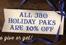 Jao Holiday 2014 / Sharing our Holiday Specials with YOU!