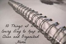 OrganizingTips / Interesting and useful tips to organize home.