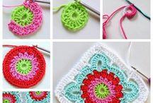 Granny squares / Crochet