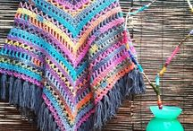 Crochet ponchos / Crocheting