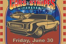 Cars & Stripes Forever!® / A free, popular pre-Independence Day celebration with classic cars, live bands, water shows, and grand fireworks finale hosted by the Port of Los Angeles on July 1, 2016.