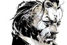 Yoji Shinkawa (Kojima Productions_Metal Gear Solid)