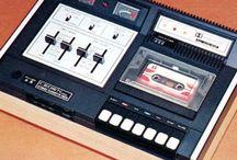Vintage cassette tape recorders / テープレコーダー テープ・レコーダー テレコ