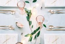 Tabletop / Elegant table settings for all occasions.