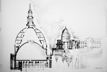 ARCHITECTURAL DRAWING / by stephanie wl studio