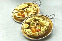 Nespresso Jewelry / hand made recy nespresso capsules jewelry