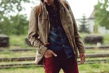 Men's Fashion  / A real man knows how to dress