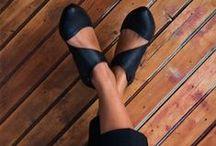 heels / flats / sneakers