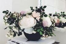 Flowers in Bloom / Beautiful flower motifs in home decor.