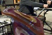 Glass / Hand blown Art glass