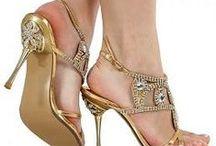 Jewled shoes / Foot Fashion
