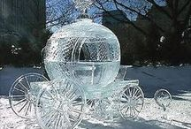 Ice & snow carving / An ice sculpture is a form of sculpture where ice is used as a raw matriaal
