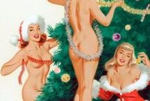 Christmas Pin-up