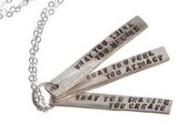 You're the Inspiration / Products with uplifting messages and inspiring inscriptions.
