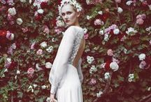 The Perfect Wedding Dress / Wedding dress inspiration to find the perfect gown, from classic traditional to modern minimalism. Beauty takes all forms in lace, organza, silk, tulle, and more elegant materials.