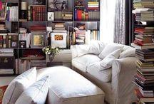 Study room / Library n shelves