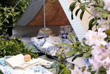 garden / hideout / cabin /