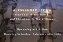Upcoming Exhibition at z2o Sara Zanin Gallery/Prossime mostre alla z2o Sara Zanin Galleria / Upcoming and Opening/Prossime aperture mostre