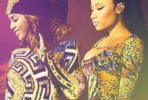celebs on my mind. / Beyoncé, Ashley Tisdale, Nicki Minaj, Liam Hemsworth, The Weeknd, Ariana Grande & more