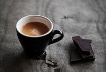 ... káva čokoláda čaj / (... = cukr :)
