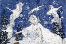 fairy tales, pohádky, příběhy / Bylo nebylo...  Pohádky a Pohádky.