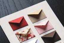 Obálky, envelopes, Umschläge... / Skrývají tajemství...  Užitečná, tichá a ochotná, někdy nenápadná, někdy nápadná věc je to, ta obálka.