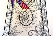 Colors for adults / Coloring pages for adults.