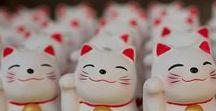 Maneki Neko / Japanese lucky cat.