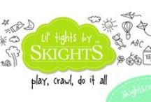 Lil' Tights by Skights / Tights to keep Lil' legs warm, great for crawling and potty training.