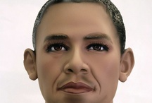 Celebrity Mannequins / Some Celebrities turned into plastic...