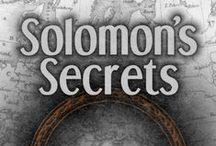 Solomon's Secrets - research links and images /  Here's some images, muses and ideas for the development of my next book: Solomon's Secrets. Keep track with #SolomonsSecrets