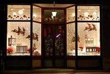 Holiday Window Display Contest / The Holidays are here, and it's time to show off your window display skills!  Submit your window displays and decorations for a chance to win $500 in  window coverings. http://factorydirectblinds.com/blog/holiday-contest for more details. #holidaywindowdisplay.