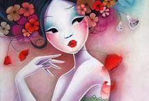 lady sybile / dibujos