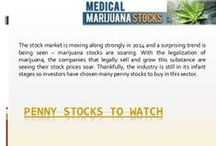 Penny Stocks To Watch / Investment interest in the medical marijuana industry has surged since Colorado and Washington voters in 2012 legalized sales.  The medical marijuana sector is off to a great start in 2014 with rising momentum for the prospects of legalization in the United States that are enticing stock market investors.