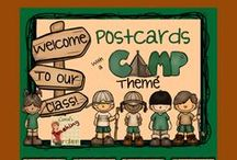 CG Camp Theme / Classroom ideas related to a camping theme