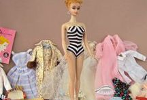 Barbie Girl in a Barbie World / I thought Barbie, iconic as she is, deserved her own board. This is where I put all of the gorgeous vintage ensembles of hers that I covet.