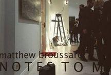 matthew broussard / Artwork and furniture by Matthew Broussard