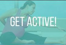 Get Active! / Clothes & outfit ideas for active moms-to-be!