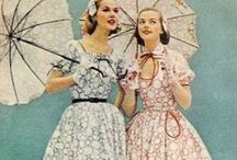 Clothing Line Inspiration / Someday I'd like to design my own clothes. My inspirations are vintage and antique fashions and alternative fashions like Lolita and Pin-Up fashion. My overall look is hyper feminine, quirky, and glamorous.
