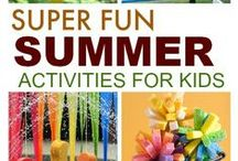 Summer Fun Activities for Kids / Summer Activities for Toddlers and Kids.