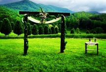 Blue Ridge, Georgia Weddings / Blue Ridge is the perfect location for a destination wedding.