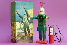 Robots & Toys from Outer Space