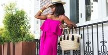 SUMMER STYLE INSPIRATION / All things summer fashion and beauty. #summerstyle #summerbeauty