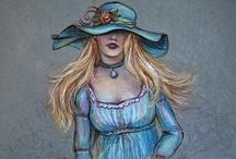 Lady in Blue / by Carolyn Prescott