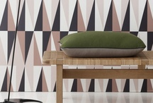 Geometric Prints / Geometric patterns are a hot trend for 2014. Get some ideas & inspiration for incorporating them into your home.